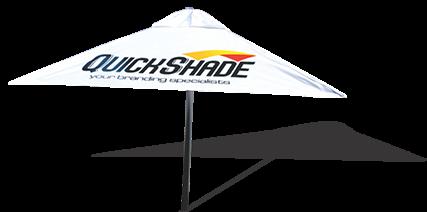 Quick shade parasol