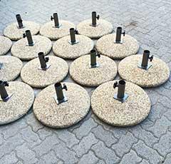 Pebble bases